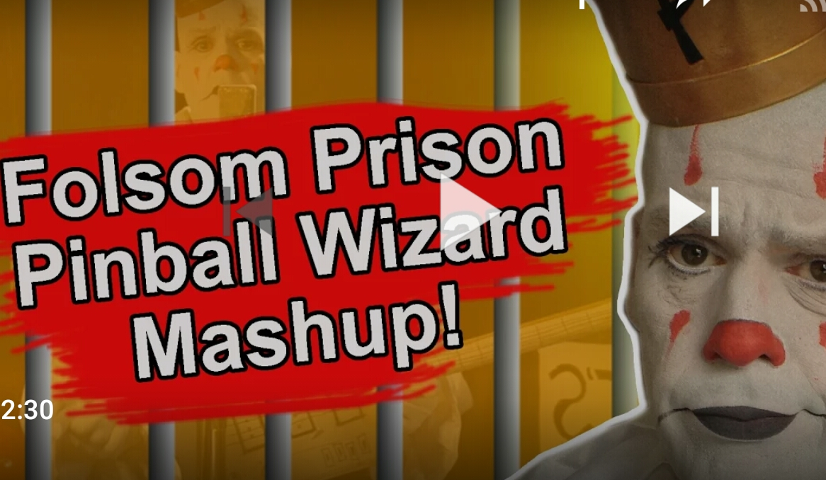MASH UP DEPT: Folsom Prison Blues/Pinball Wizard Mashup – Johnny Cash – The Who – Puddles PityParty